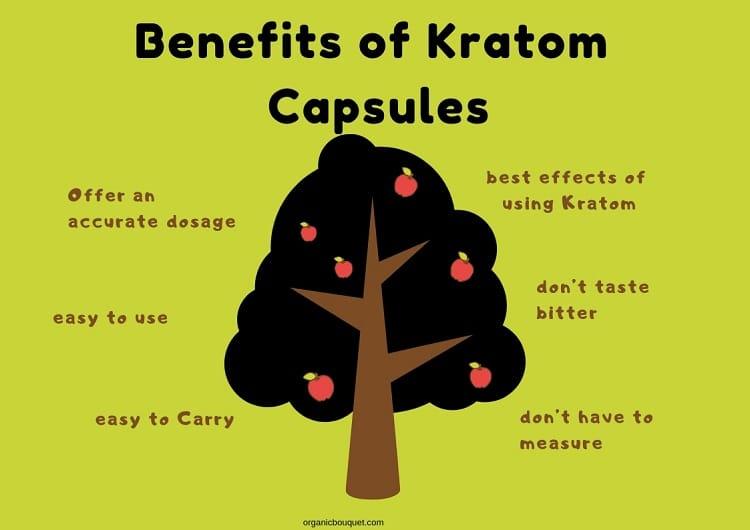 Benefits of Kratom Capsules