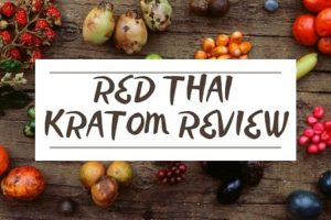 Red Thai Kratom Review