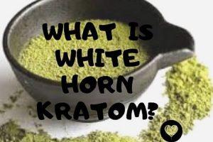 White Horn Kratom